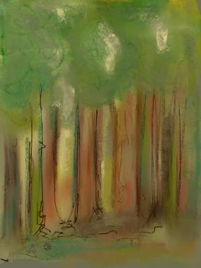 "Woods - 8"" x 10"" digital print"
